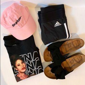 Black slides/sandals